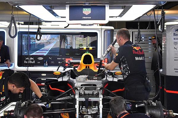 Formula 1 Analisi Red Bull: Verstappen prova la sospensione con il bracket