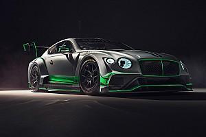 Blancpain Endurance Noticias Bentley presenta el nuevo Continental GT3