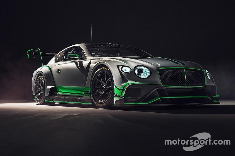 Brachialer Brite: Bentley zeigt den neuen Continental GT3