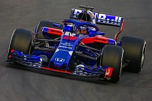 F1 テストレポート トロロッソ・ホンダ、トラブルフリーで72周を走破。最速はリカルド