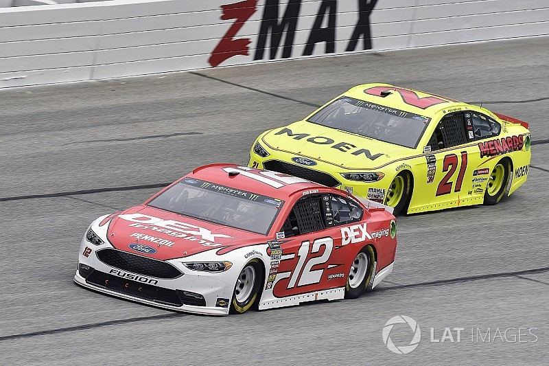 Blaney: Time with Wood Brothers helped make Penske move easier