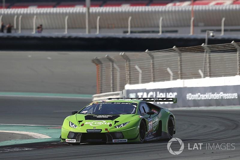 Mirko Bortolotti puts GRT Grasser Racing Team Lamborghini on pole for 24H DUBAI