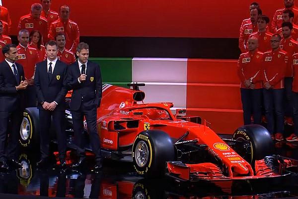 Formula 1 Breaking news Ferrari resmi pamerkan penantang titel F1 2018, SF71H