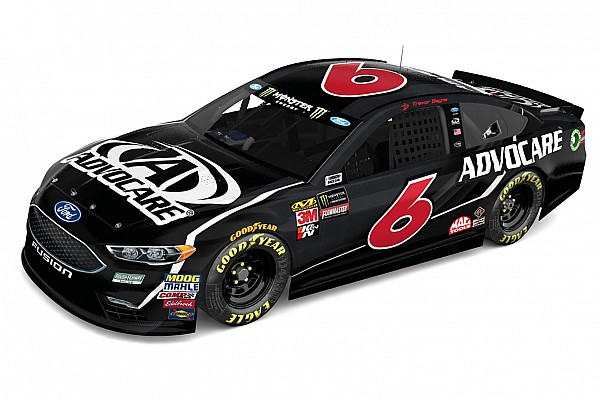 Roush Fenway's No. 6 team goes back to black in 2018