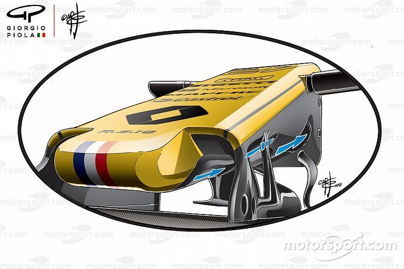 Analisis teknis: S-duct andalan Renault di F1 2018