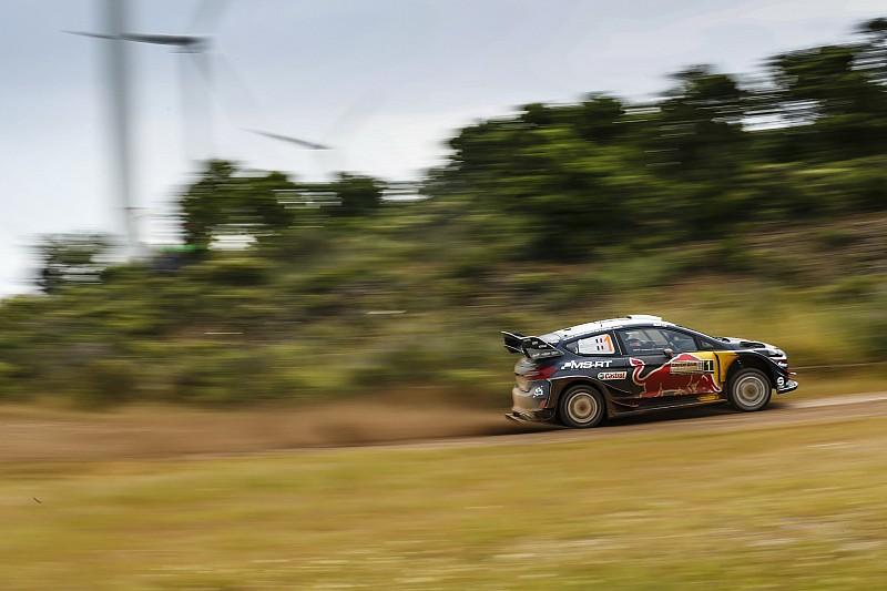 WRC в Італії: Ньовілль впритул наблизився до Ож'є