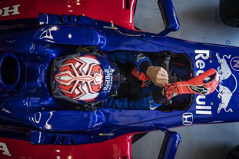 Galería: Márquez prueba lo que es la Fórmula 1