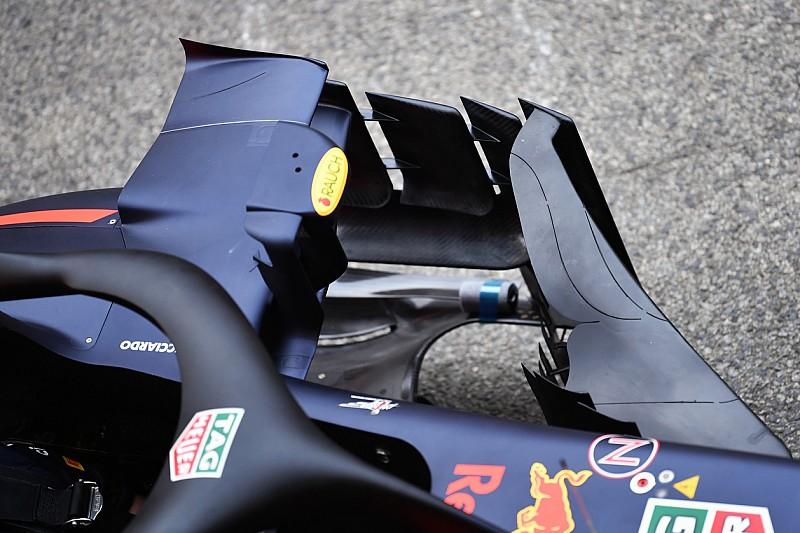 Red Bull: anche modifiche strutturali sulla RB14 della Spagna