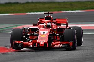 Fórmula 1 Crónica de test Vettel lidera el penúltimo día de pruebas por más de un segundo