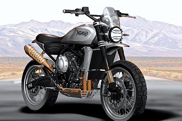 Other bike Breaking news Norton 650 Atlas Scrambler concept renders revealed