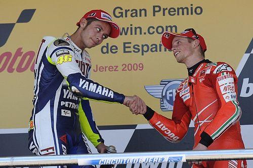 Stoner s'interroge sur le fait que Rossi prolonge sa carrière