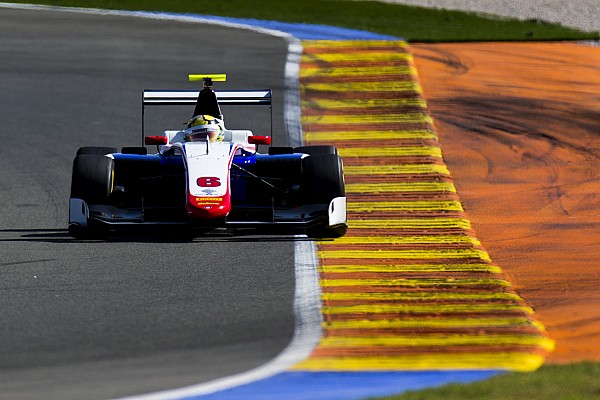 Janosz kicks off Valencia GP3 test on top