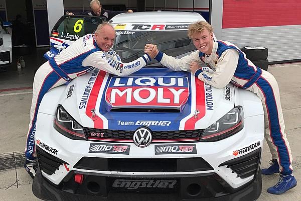 TCR Middle East News Luca Engstler gewinnt bei Debüt im TCR-Tourenwagen