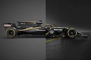 Hasonlítsd össze egymással a Renault 2017-es és 2018-as F1-es versenygépét