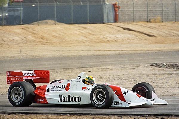 IndyCar Historia VIDEO: la historia de Senna en un coche de IndyCar