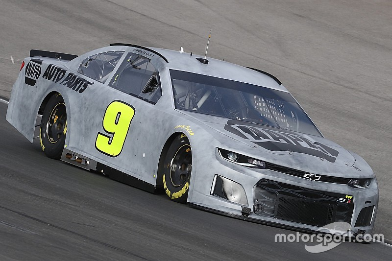 """Chase Elliott tests new Camaro ZL1 Cup car, says it """"looks great"""""""