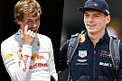 Verstappen rappelle Vettel à Red Bull