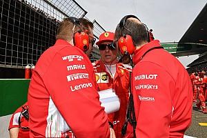 Реакция: как Райкконен изменил свое положение в Ferrari
