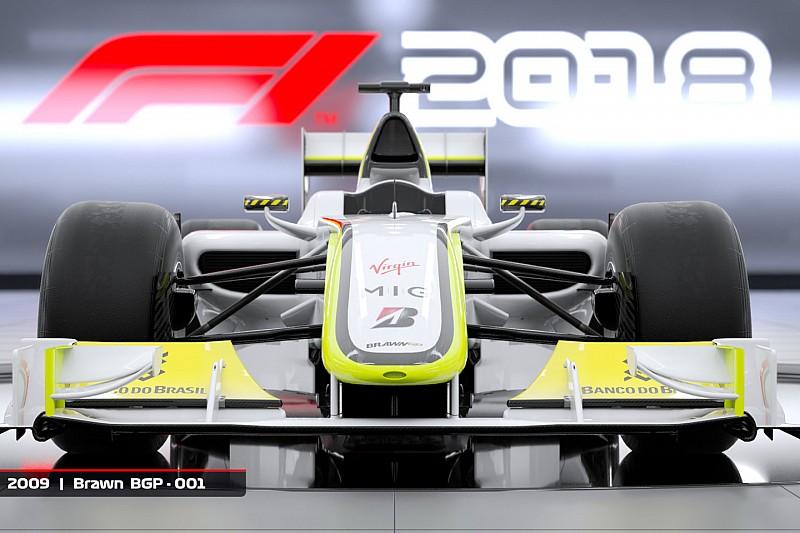Populaire Brawn GP-wagen te besturen in F1 2018
