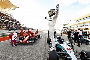 Formula 1 Qualifying report United States GP: Hamilton on pole as Vettel snatches second
