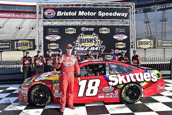 NASCAR Sprint Cup Hermanos Busch logran la primera fila para Bristol y Suárez 12°