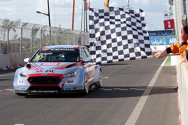 WTCR Tarquini obtiene la pole en Marrakech