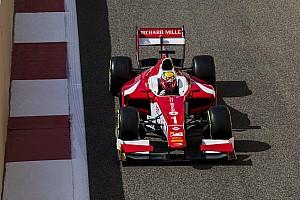 FIA F2 Reporte de la carrera Leclerc cierra su brillante temporada de F2 con la séptima victoria