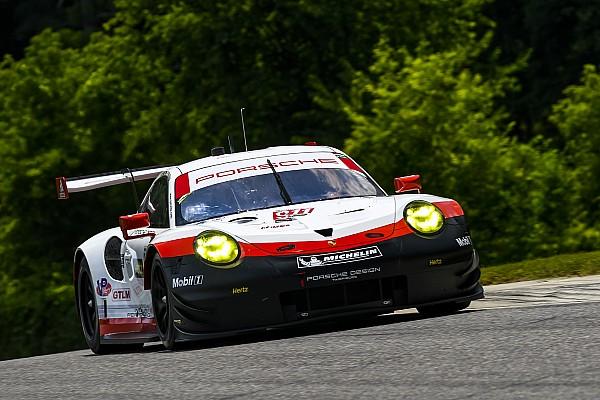 IMSA Lime Rock: Dominante een-twee voor Porsche