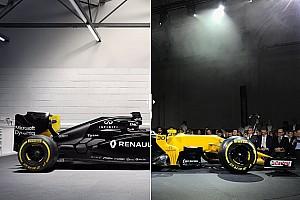 Komparasi dua generasi F1: Renault R.S.17 vs R.S.16