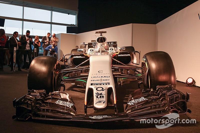 Technique - Les secrets de la Force India VJM10