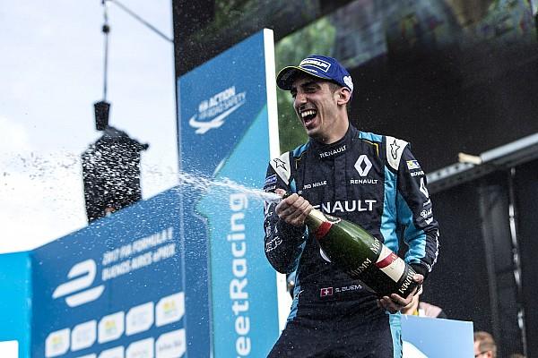 Buemi logró en Buenos Aires su tercera victoria consecutiva