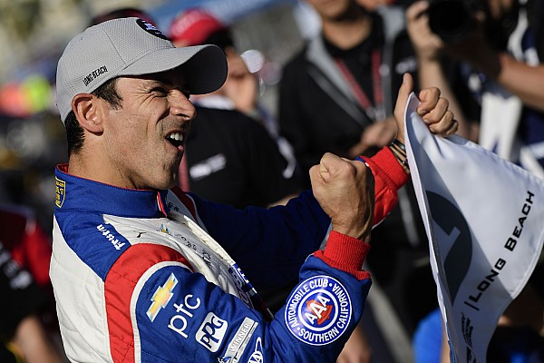 IndyCar Castroneves quebra recorde da pista e é pole em Long Beach