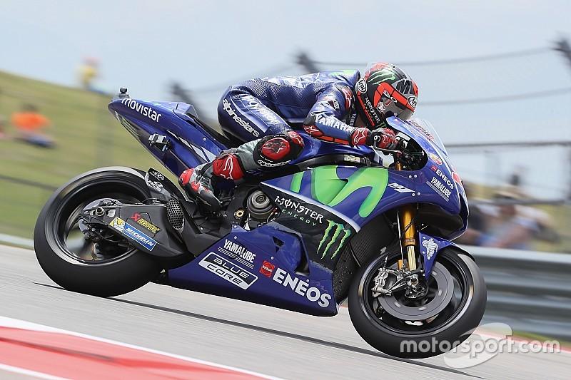 MotoGP Amerika: Vinales puncaki FP3, Marquez terjatuh dua kali