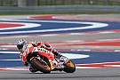 MotoGP Austin MotoGP: Marquez leads Vinales in morning warm-up