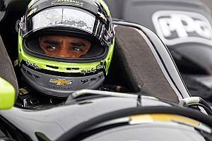 IndyCar Breaking news Montoya satisfied with comeback effort so far