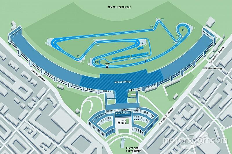 Формула E представила новую конфигурацию трассы в Берлине