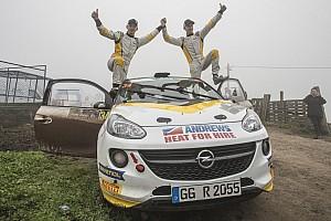 ERC Intervista Il trionfo di Ingram fa volare la Opel al comando fra i team