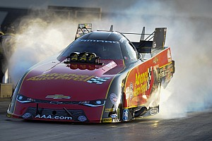 "NHRA Breaking news Courtney Force hails ""great test"" after fastest Funny Car run"