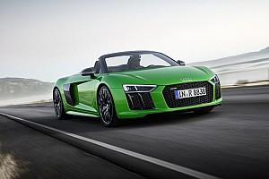 Auto Actualités 610 chevaux de plaisir pour l'Audi R8 Spyder V10 Plus