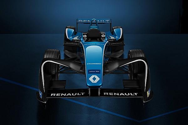 Formel E 2017/2018: Renault e.dams zeigt neue Lackierung