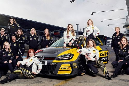 """The """"black gold"""" behind an all-female Nurburgring 24 Hours team"""