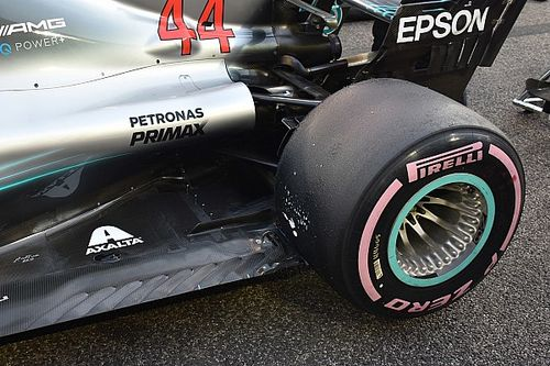 Sensor trick could give Mercedes edge in F1 tyre test
