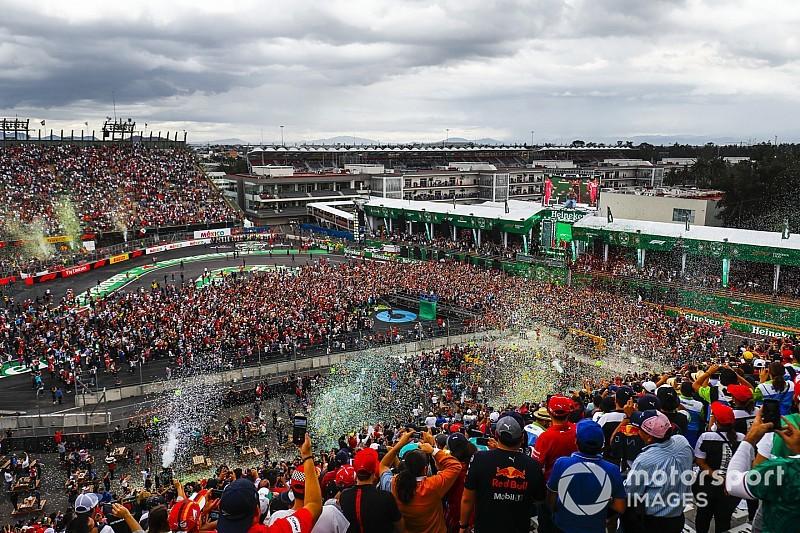 El GP de México premiado nuevamente como el mejor de la F1