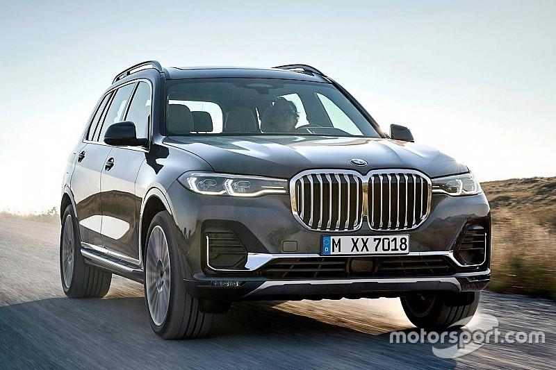BMW офіційно представила 7-місний кросовер X7