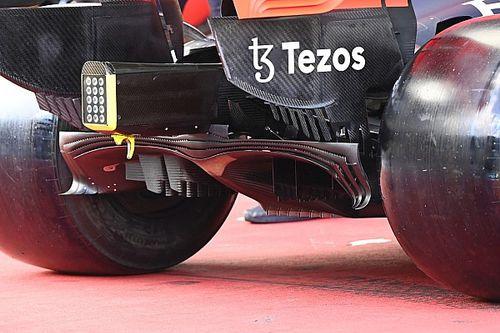 Технический брифинг: диффузор Red Bull RB16B