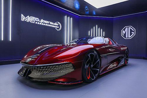 L'anti Tesla Roadster che viene dalla Cina: ecco la MG Cyberster
