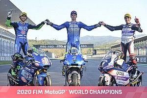 Los premios de la temporada 2020 de MotoGP, Moto2, Moto3 y MotoE