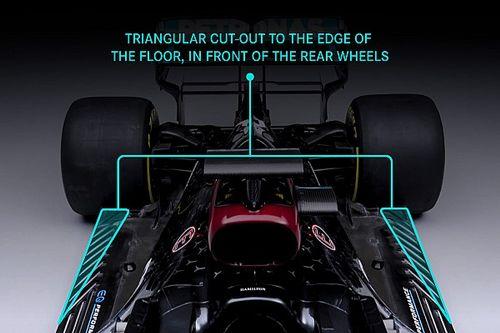 Mercedes скрыла на кадрах W12 настоящее днище