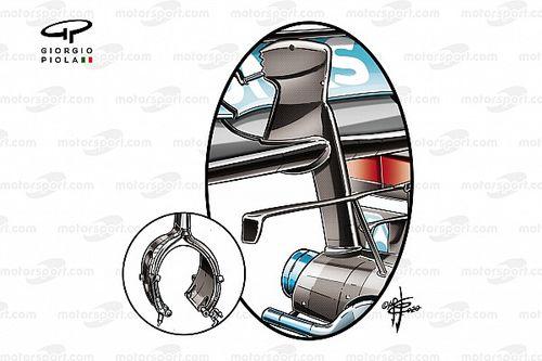 Команда Mercedes на пике формы. Чемпионы умудрились извлечь выгоду даже из крепления зеркала заднего вида