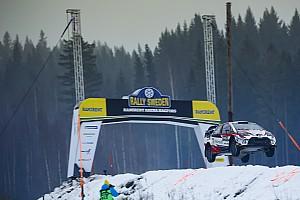 Galería: los increíbles saltos sobre la nieve del Rally de Suecia 2019